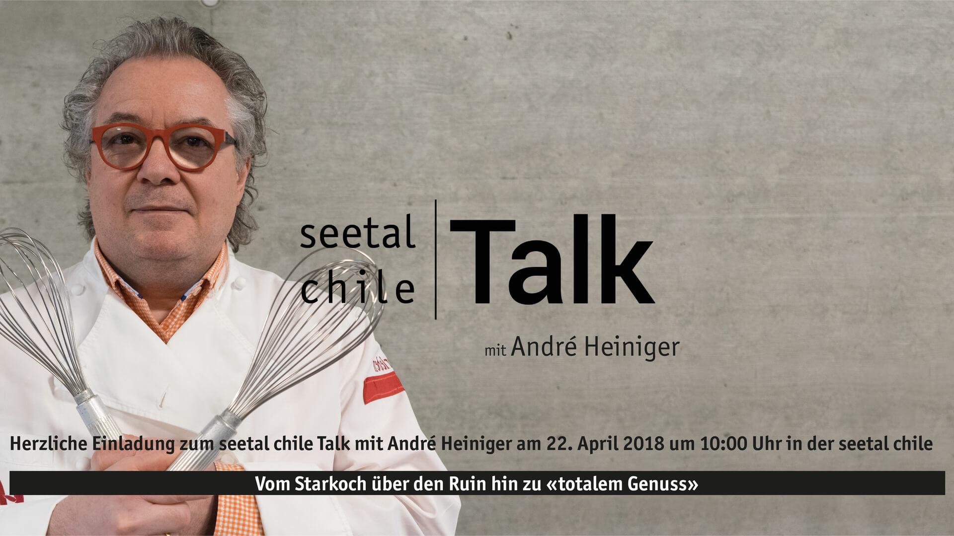 seetal chile Talk mit André Heiniger